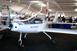 electric airplane: the electraflyer C