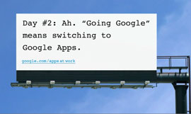 Going Google - the gloves are off!