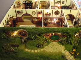 photo gallery: handmade hobbit hole