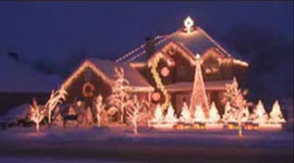 """Wizards of Winter"" house lighting award winner"