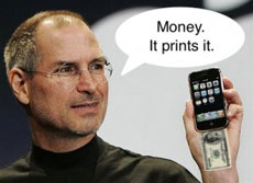 iPhone prints money :)