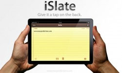iSlate: will Apple's tablet have a multitouch *back*?