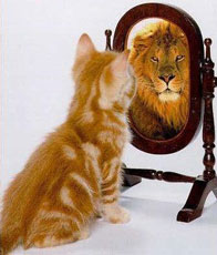 seeing yourself as you really are :)