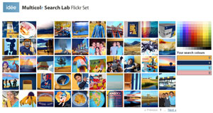 multicolor search lab for flickr