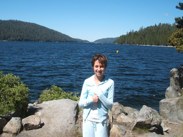 Huntington Lake - one of the best places to race dinghies in the world