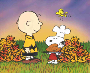 Peanuts' Happy Thanksgiving
