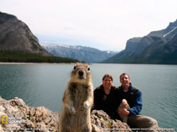 the photo-crashing squirrel!
