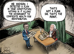 redistribution and the constitution