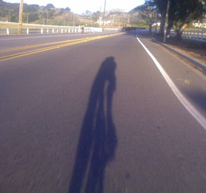 riding: self-portrait
