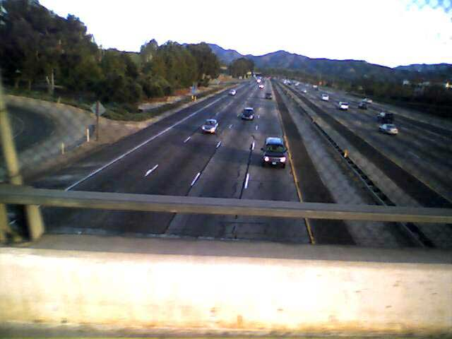Over the Freeway