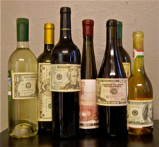 wine pricing: does expensive wine become good, or does good wine become expensive?