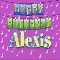 Happy Birthday Alexis!