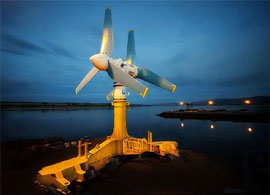 World's largest tidal turbine - 120 tons