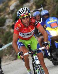 Vincenzo Nibali wins the 2010 Vuelta a Espana