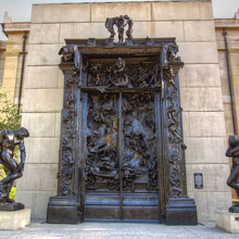 Auguste Rodin's Gates of Hell