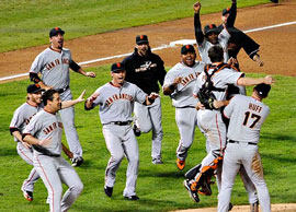 Giants win series!
