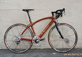 Renovo wooden bike = way cool