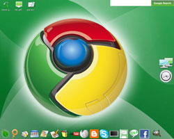Chrome OS screenshot