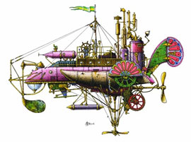 steamcraft submarine
