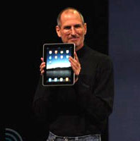 the iPad is introduced!