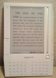 my Kindle 1 - yay!