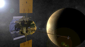 Messinger swings into orbit around Mercury