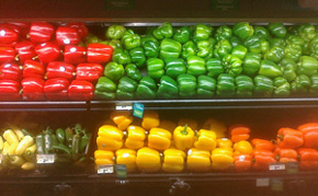 I found the peppers