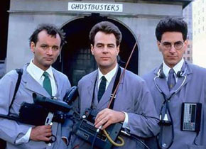 Ghostbusters! Leaders of the class of 1984 :)