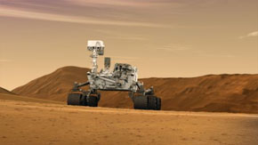 Curiosity, the next Mars rover