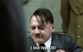 Hitler finds out HP killed WebOS