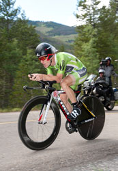 Levi Leipheimer powers to win the ITT in USPCC stage 3