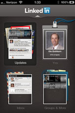 LinkedIn iPhone App rocks