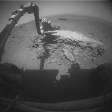 Opportunity at work in Endeavor crater