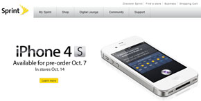 the new iPhone 4S - available on Sprint!