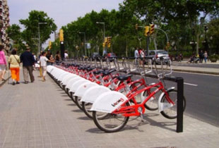 Barcelona bike sharing