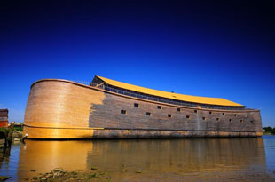 Noah's Ark replica, in Dordrecht, the Netherlands