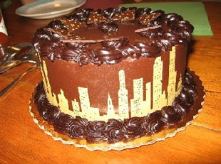 Chicago - birthday cake