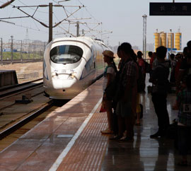 Chinese high-speed train