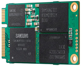 "Samsung 1TB SSD in 1.8"" mSATA form factor"