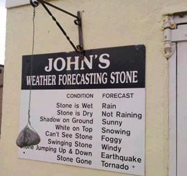 the weather stone
