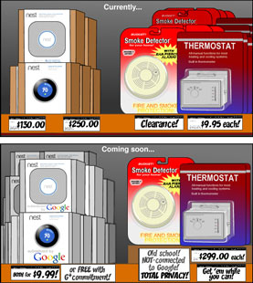 Google Nest - then and now