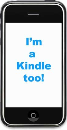 the iPhone Kindle