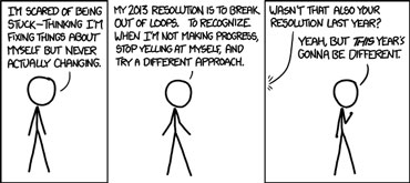 xkcd: New Year's Resolutions