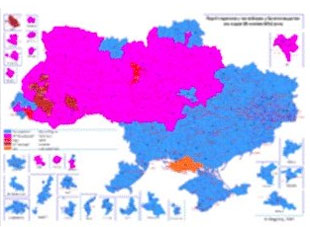 Ukraine, by language