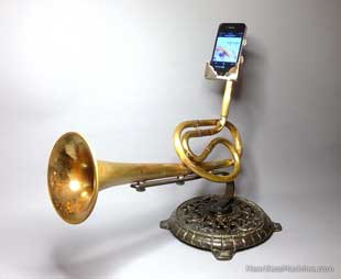 brass instrument phone amp
