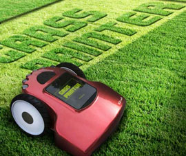 the grass printer