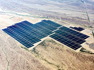 world's largest solar array