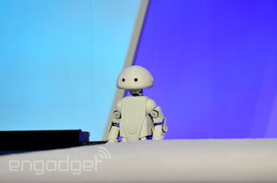 Intel's 3D-printed robot, Jimmy
