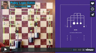 pulley logic gates