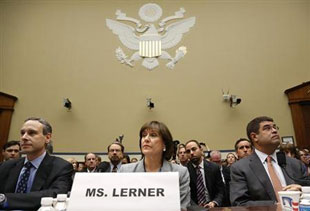 Lois Lerner testifies about the lost emails ... which presumably reinforced reports of IRS subversion